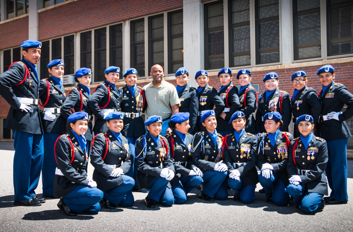 Denver's Mayor Michael Hancock, Lincoln HS ROTC